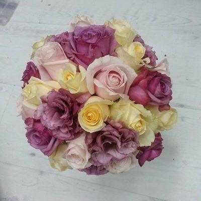 סידור פרחים ססגוני